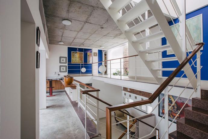 modern contemporary industrial loft house (15)