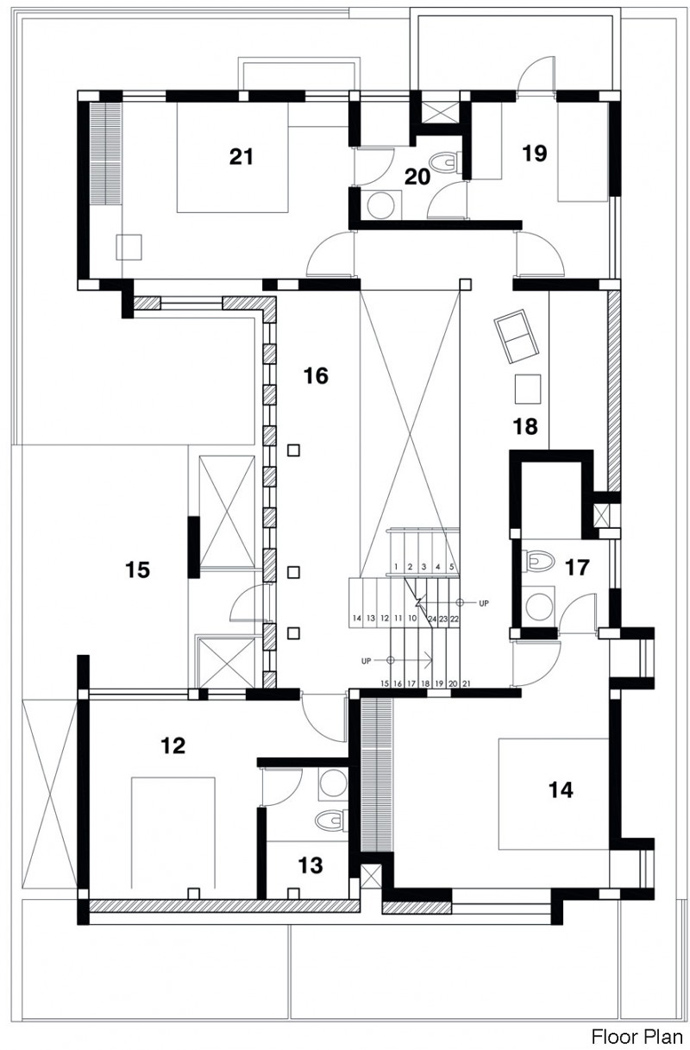 modern contemporary industrial loft house (3)
