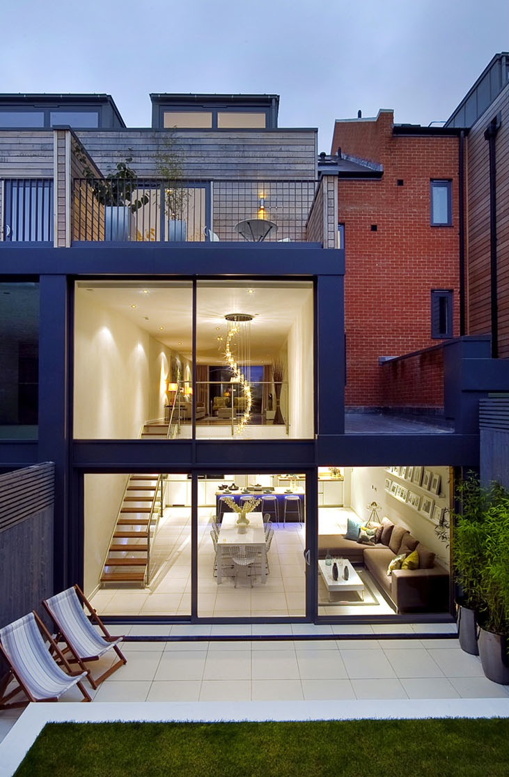 modern contemporary townhome (1)