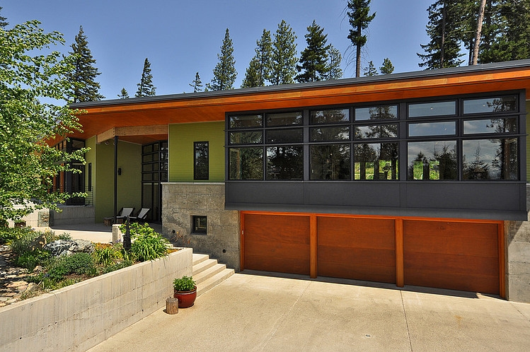 modern green house in beautiful forest  (11)