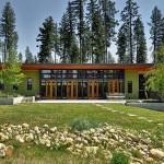 แบบบ้านชั้นเดียวแนวโมเดิร์น ใช้สีสันกลมกลืนกับธรรมชาติ สร้างความน่าอยู่อาศัย