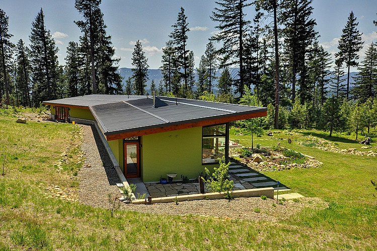 modern green house in beautiful forest  (5)