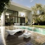 แบบบ้านล้ำสมัย เน้นความสวยงามของโครงสร้างรูปทรงเรขาคณิต