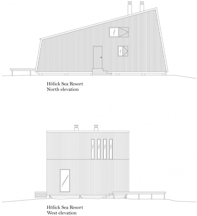 modern small wooden house in wood (14)