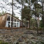 บ้านไม้ชั้นครึ่งสไตล์โมเดิร์น รวมความเป็นธรรมชาติ เข้ากับความงามที่ทันสมัย