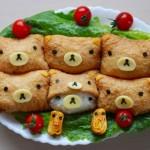 พาเข้าครัวทำอินาริซูชิ ลายน้องหมี Rilakkuma เมนูง่ายๆแถมยังน่ารักสุดๆ
