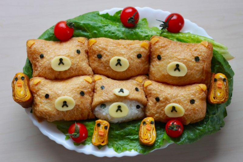 rilakkuma menu food (5)