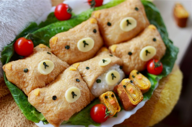 rilakkuma menu food (6)