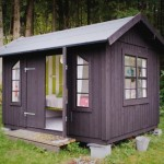 บ้านในสวนขนาดจิ๋วเพียง 10 ตารางเมตร ออกแบบอ่อนหวานและอ่อนโยนแบบผู้หญิง