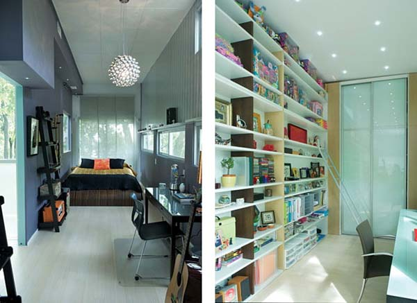 turn old container box to modern contemporary house  (4)
