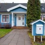แบบบ้านสองชั้นรูปทรงกระท่อมยุโรป ดูน่ารักและอบอุ่นสำหรับครอบครัวใหญ่