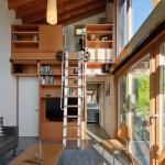 แบบบ้านขนาดเล็กสไตล์ลอฟท์ ตกแต่งได้อย่างทันสมัย เหมาะกับชีวิตคนรุ่นใหม่