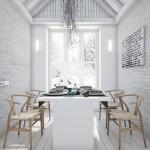 บ้านสวยสไตล์ลอฟท์ ใช้โทนสีขาวเป็นหลัก ตกแต่งอย่างสวยงามชวนฝัน