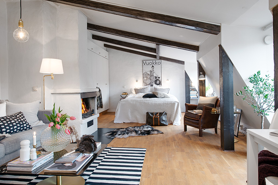 beautiful bright apartment in sweden (1)