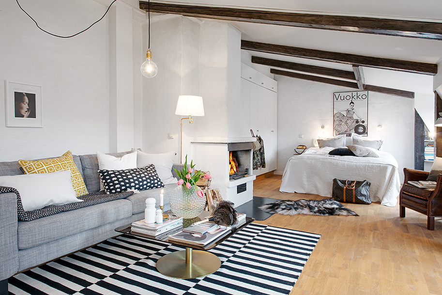 beautiful bright apartment in sweden (10)