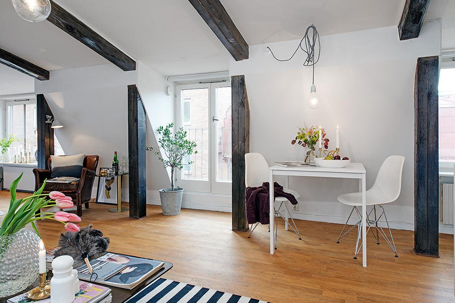 beautiful bright apartment in sweden (5)