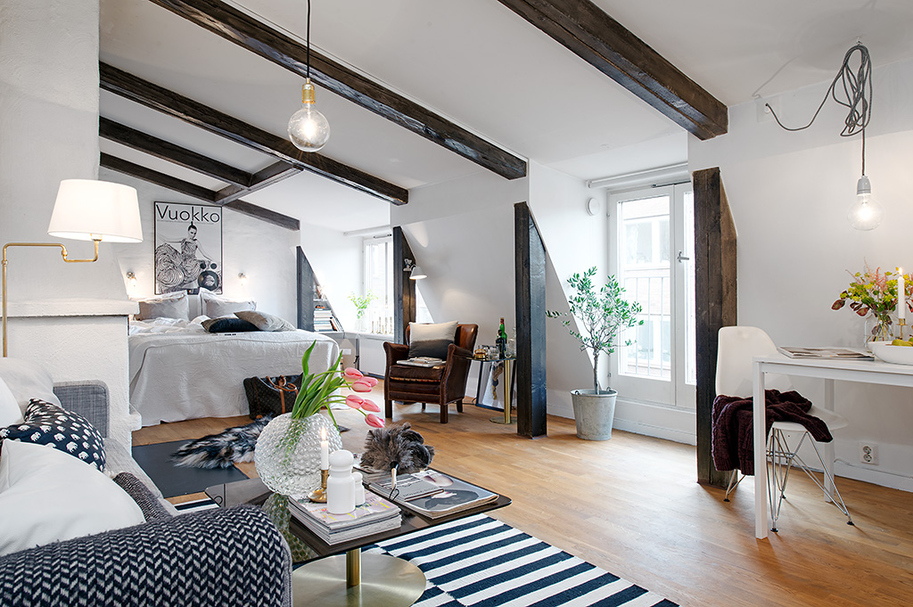 beautiful bright apartment in sweden (6)