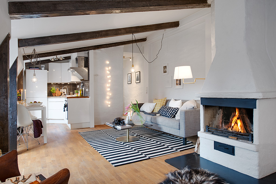beautiful bright apartment in sweden (8)