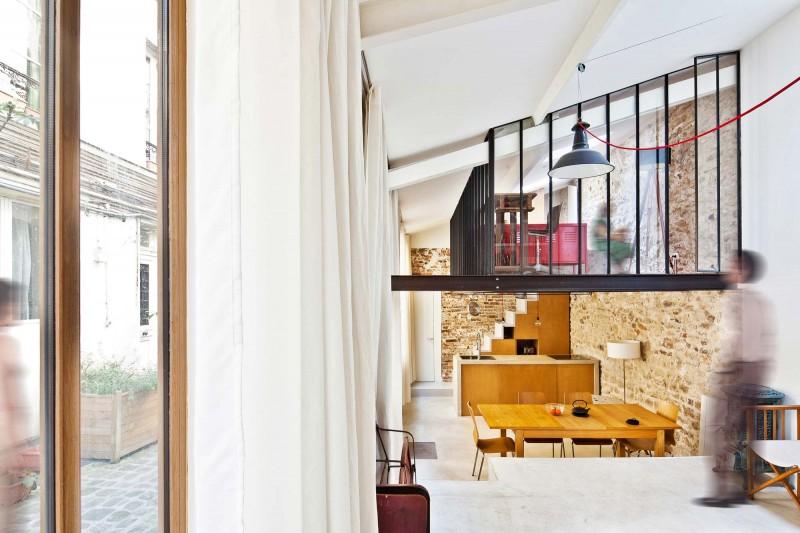 interior loft decorating in paris (1)