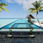 บรรยากาศสวยงาม ท่ามกลางสายลมและเกลียวคลื่น Reethi Rah หมู่เกาะมัลดีฟส์