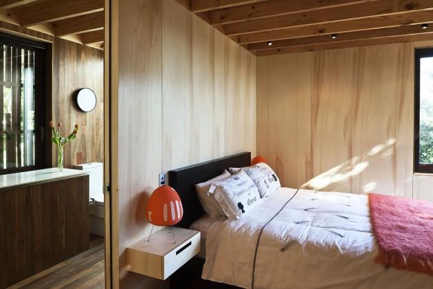 modern contemporary loft wood glass house (14)