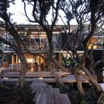บ้านไม้แนวโมเดิร์น ออกแบบมารองรับชีวิตทันสมัย แต่คงความเรียบง่ายสบายตา