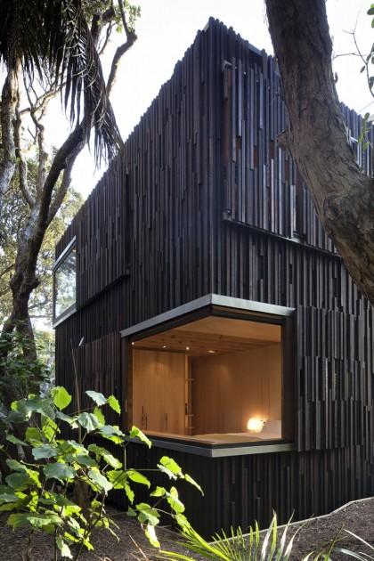 modern contemporary loft wood glass house (7)