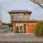 แบบบ้านสองชั้นอนุรักษ์พลังงานเพื่อชีวิตยุคใหม่ สร้างอย่างสวยงามมีเอกลักษณ์