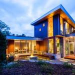 แบบบ้านสามชั้นแนวโมเดิร์น ออกแบบมาให้ประหยัดพลังงาน เพื่อชีวิตที่ยั่งยืน