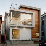 แบบบ้านทาวน์โฮม 3 ชั้น ออกแบบสไตล์โมเดิร์น สำหรับชีวิตคนรุ่นใหม่ในเมืองใหญ่