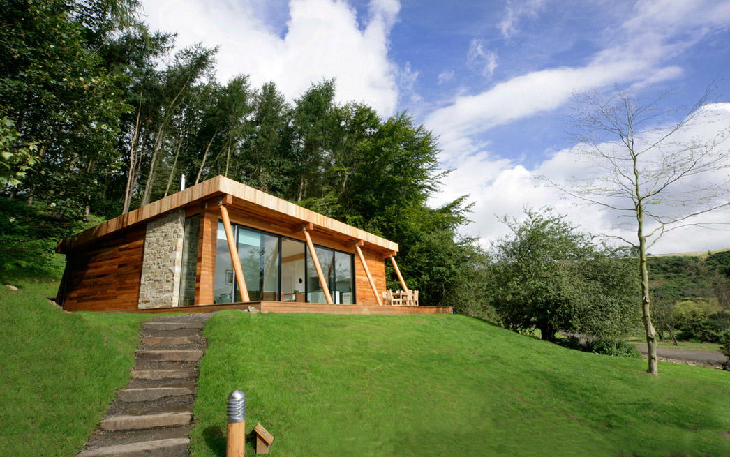 small modern wooden house (4)