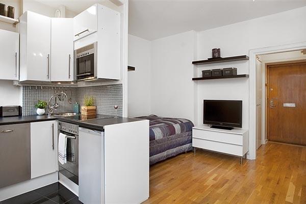 16 ideas compact condominium room (1)