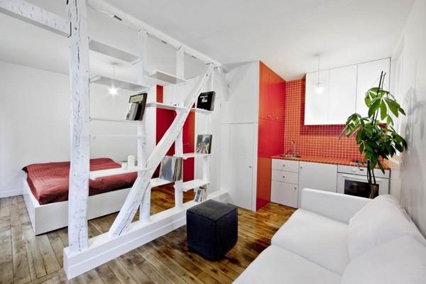 16 ideas compact condominium room (11)