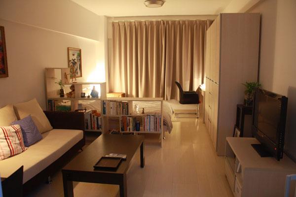 16 ideas compact condominium room (12)