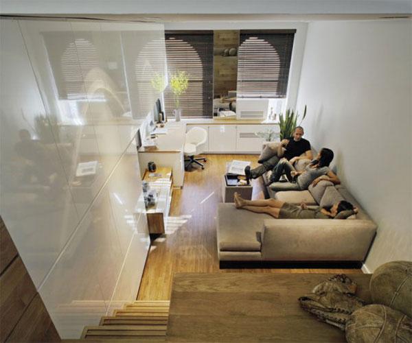 16 ideas compact condominium room (4)