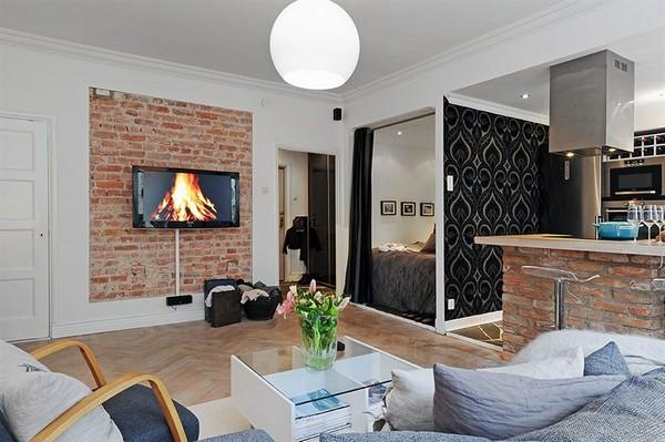 16 ideas compact condominium room (5)
