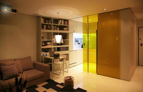 16 ideas compact condominium room (7)