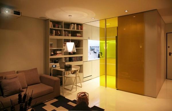 16 ideas compact condominium room (7)