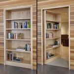 ไอเดียชั้นวางหนังสือสู่ห้องลับ เสริมลูกเล่นเด็ดๆให้กับบ้านโดย DeForest Architects