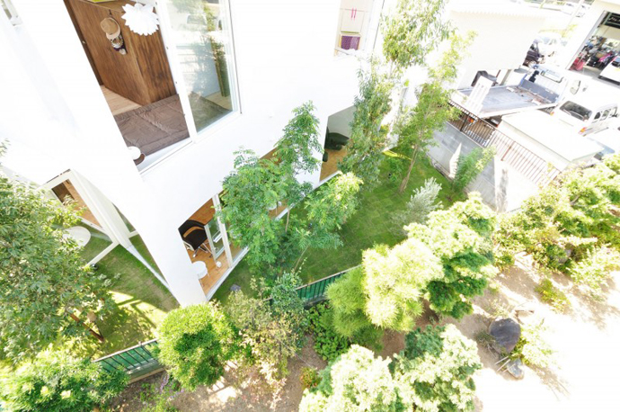 city forest house modern in tokyo japan (4)