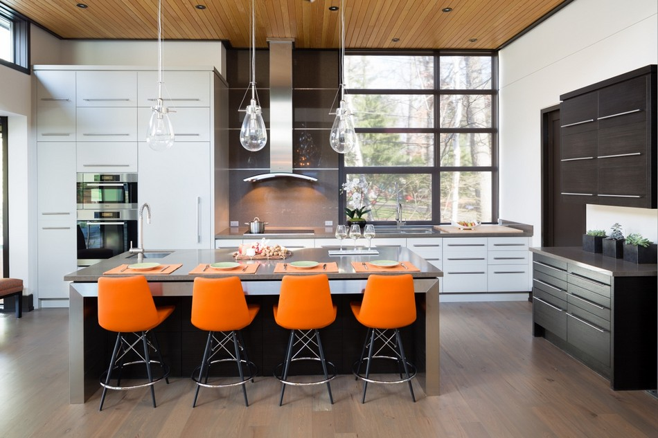 contemporary house in canada with natural surrounding (16)