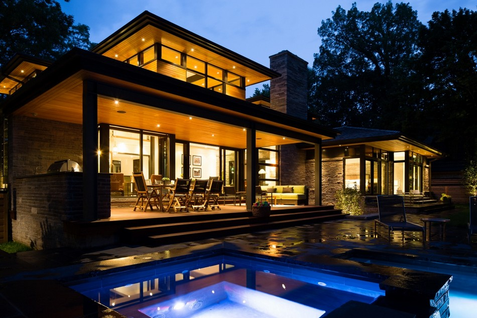 contemporary house in canada with natural surrounding (4)