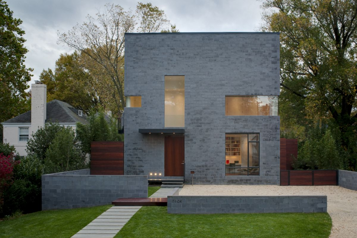 contemporary house with garden in usa (3)