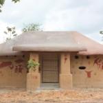 ผลงาน บ้านดินศรีแสงธรรม บ้านดินหลังเล็กน่ารัก ในงบประมาณไม่เกิน 50,000 บาท