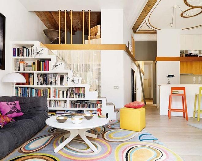 elegant apartment room decorating idea (2)