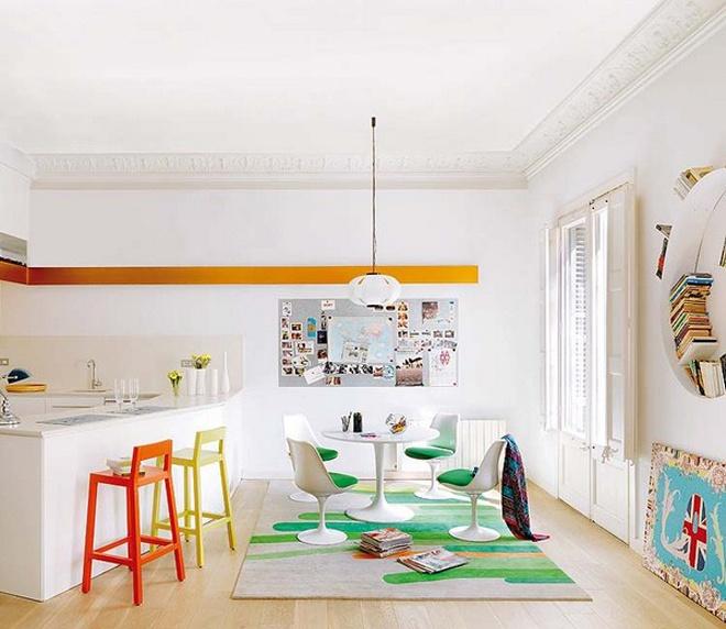 elegant apartment room decorating idea (4)