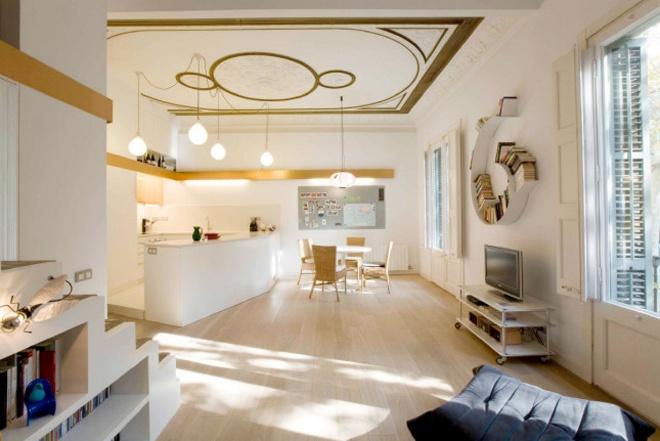 elegant apartment room decorating idea (7)