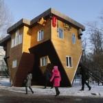 บ้านกลับหัวจากประเทศรัสเซีย ตกแต่งภายในอย่างน่าทึ่ง ดูมีเอกลักษณ์