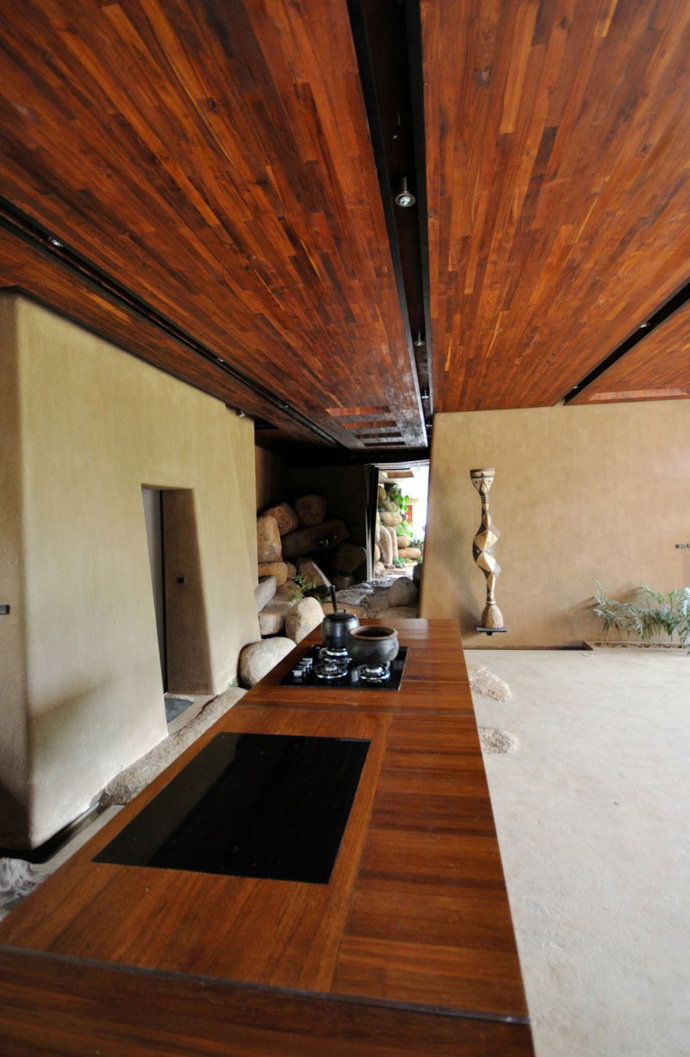 house contemporary with nature in india (14)