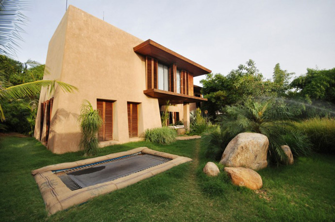 house contemporary with nature in india (15)